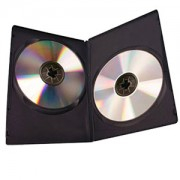 Double CD Blk DVD Case 100-199